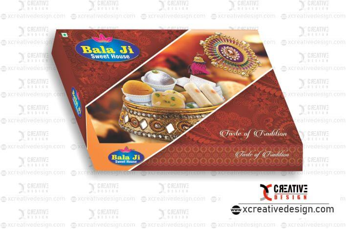 sweet box - mithai box design