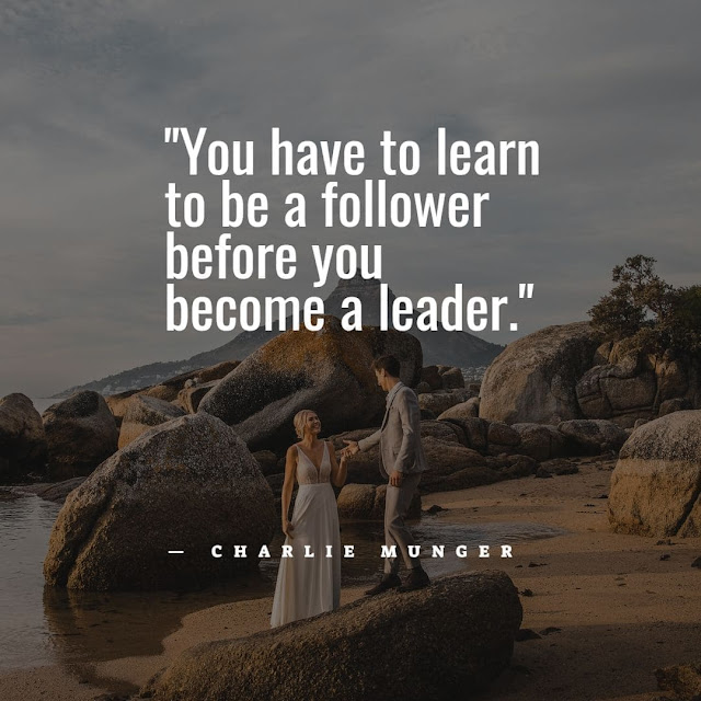 I'm a leader not a follower quotes