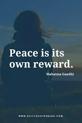 Best inspirational famous short quotes about peace of mind, love, life, world and yourself