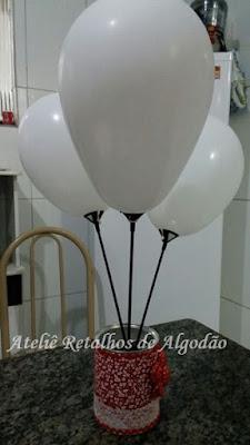 decoração com balões para aniversario
