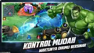 Game MOBA Android  - Marvel Super War