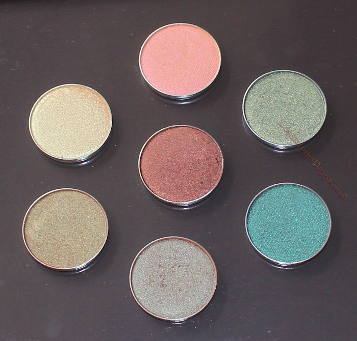 Makeup Geek Duochrome Eyeshadows Review, Swatches, EOTDs