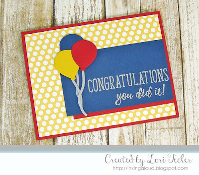 You Did It card-designed by Lori Tecler/Inking Aloud-stamps and dies from Reverse Confetti