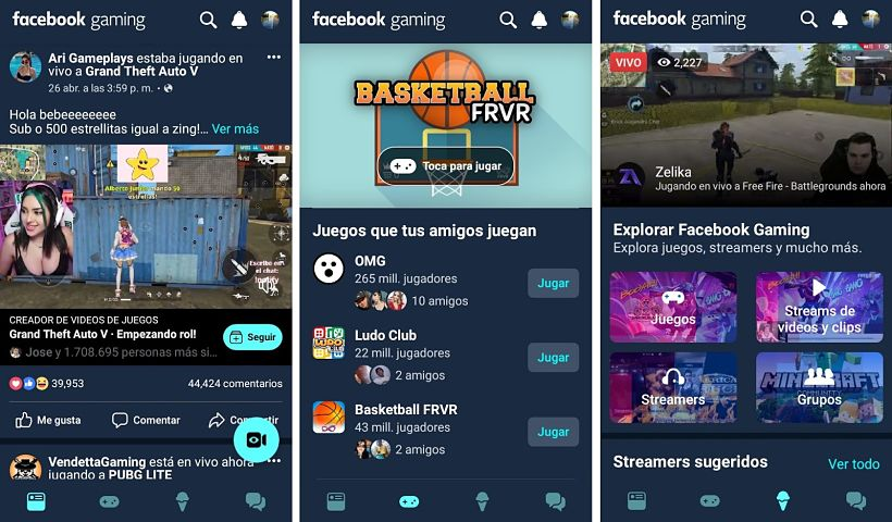 Facebook Gaming ya se encuentra disponible en Android
