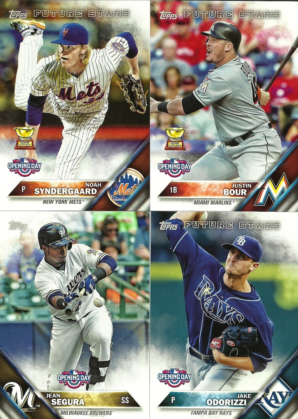 Lvs Ttm Autographs And Baseball Cards 2016 Topps Opening Day