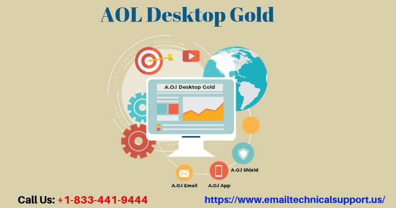 Adore the Best Services Offered by AOL Desktop Gold