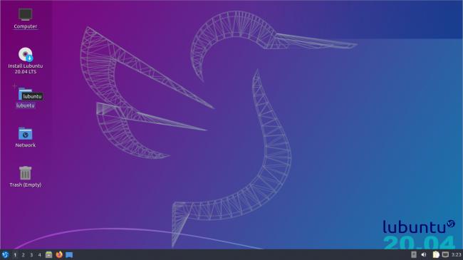 سطح مكتب Lubuntu