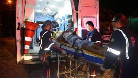 Preso de justiça usando tornozeleira eletrônica sofre tentativa de homicídio no Bairro Paredões em Mossoró RN