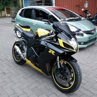 Info Moge Bekas: Suzuki Gsx600 K7 Frameslider - SURABAYA