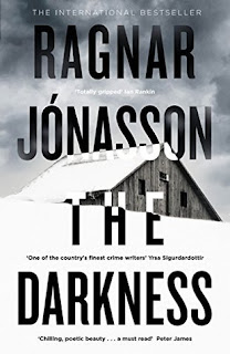 The Darkness by Ragnar Jónasson - Reading, Writing, Booking