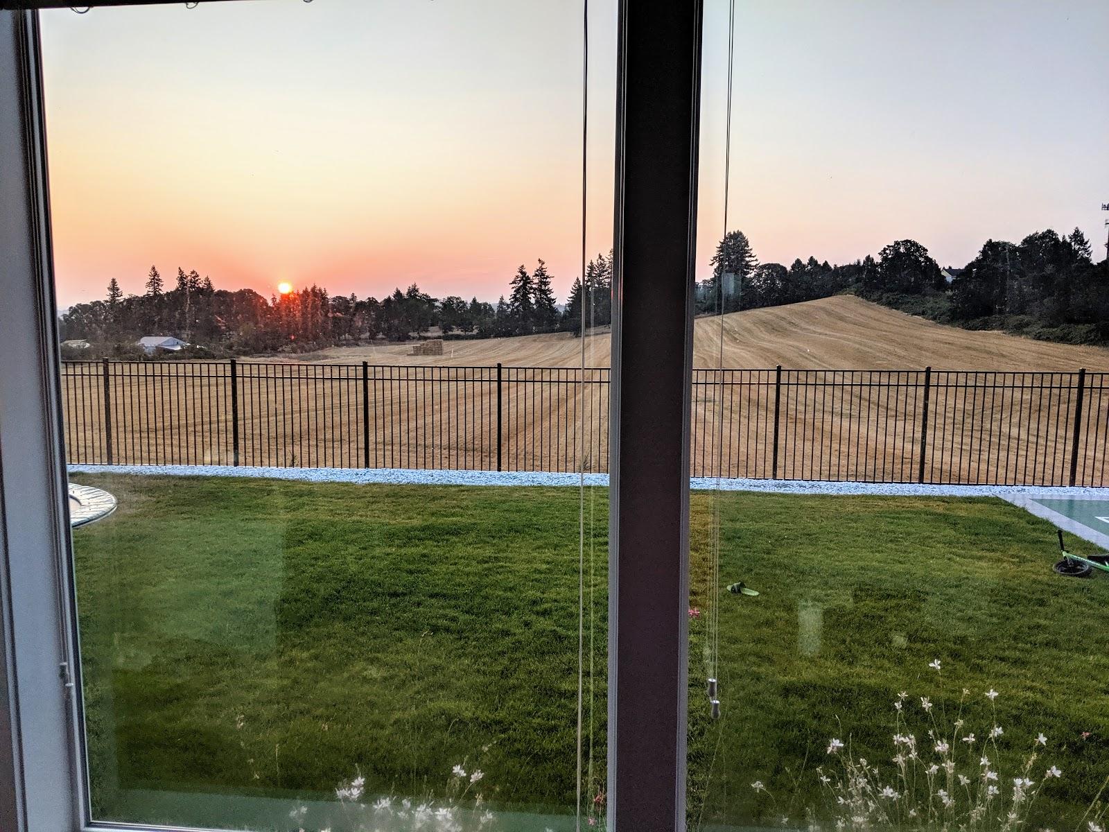 Salem Oregon Sunrise