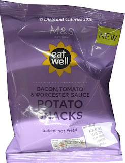 M&S Eat Well Bacon, Tomato & Worcester Sauce Potato Snacks