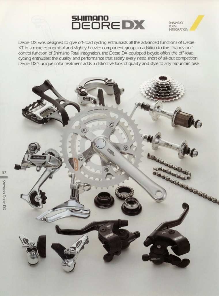 What's the difference Shimano DEORE LX and DX - Page 2 | Retrobike