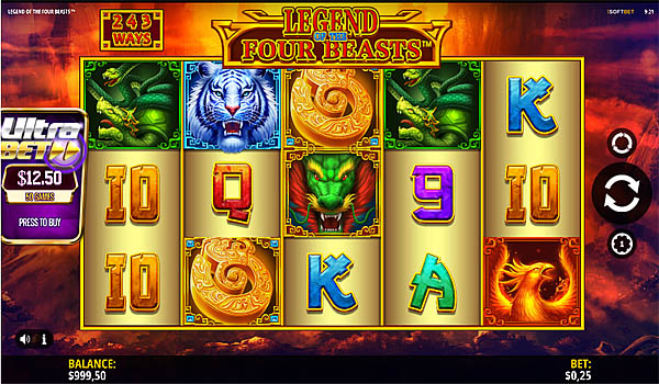 Main Gratis Slot Indonesia - Legend Of The Four Beasts iSoftbet