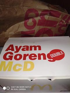 Ayam Goreng McD, Ayam Goreng McD Extra Pedas, 3 x Lebih Pedas, McDonals, McDelivery, Ayam Goreng McD Extra Spicy, 3 x spicier, Ayam Goreng McD Extra Spicy Review,