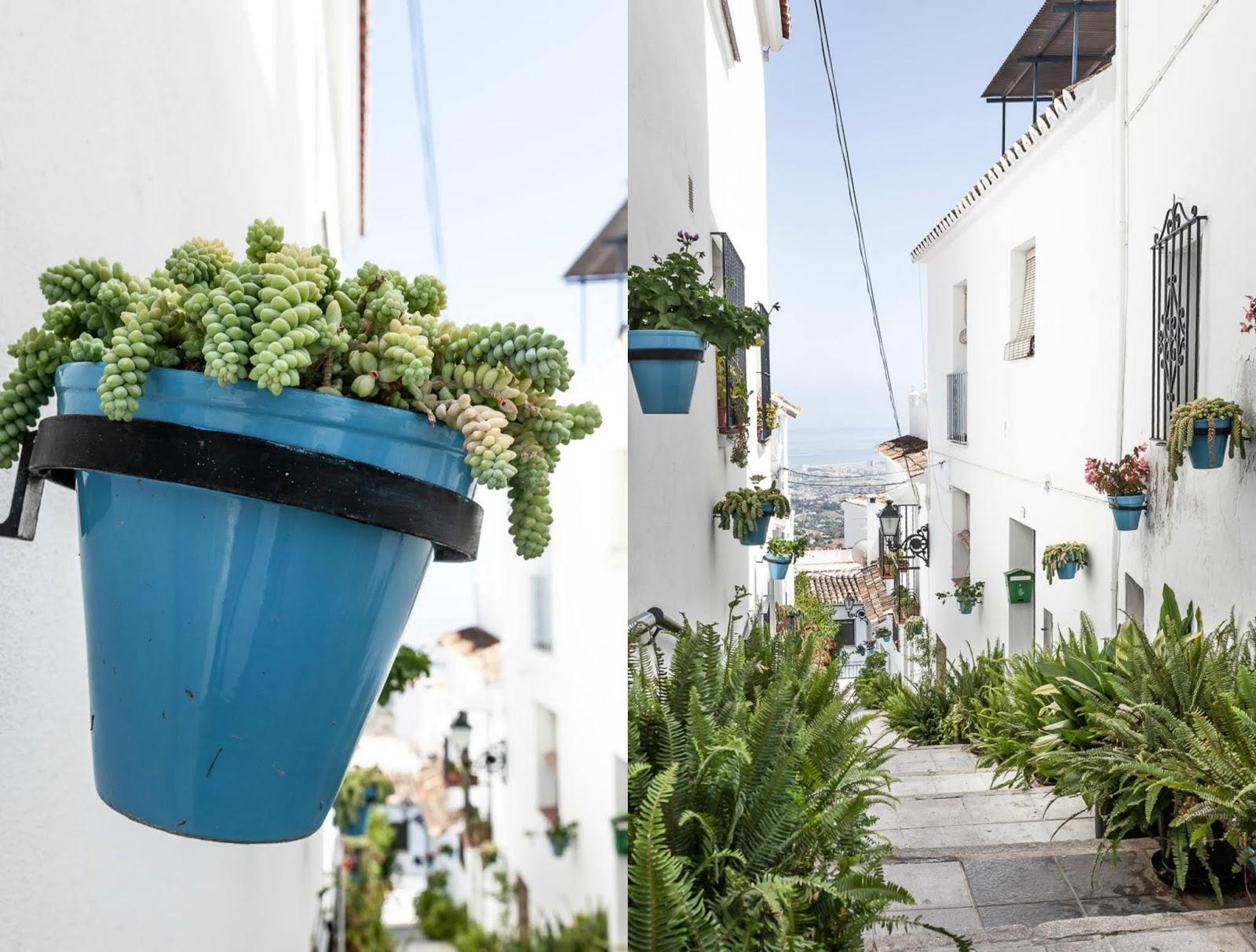 Andalucian white village Mijas