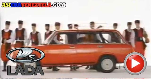 Los vehículos rusos de LADA cuando llegaron a Venezuela