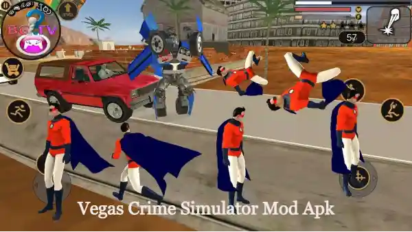 Vegas Crime Simulator Mod Apk - Unlimited Health And Money