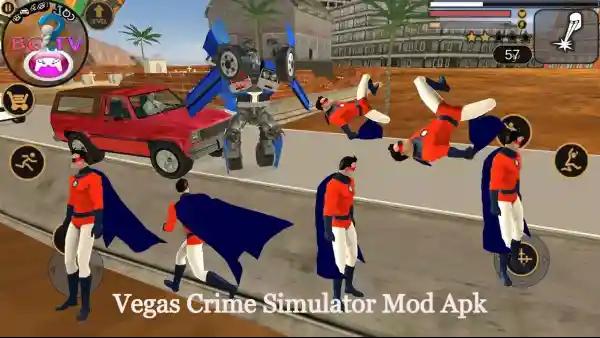 Vegas Crime Simulator Mod Apk - Unlimited Health And Money