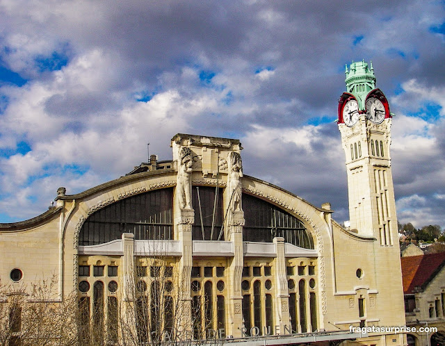 Estação de trens de Rouen, França