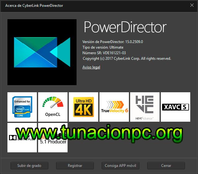 CyberLink PowerDirector Ultimate Imagen