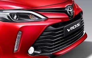 Toyota vios cải tiến đầu xe thể thao