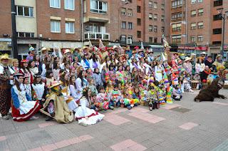 Carnaval de Laguntasuna en San Vicente