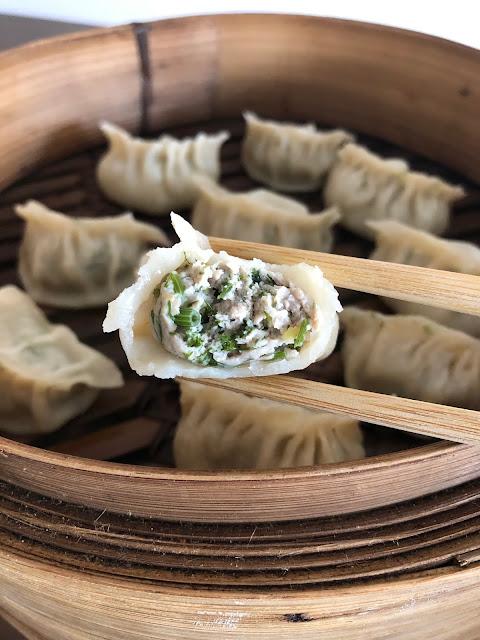 Jiaozi (gyoza) au porc et aneths ??????