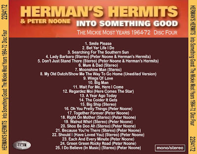 Herman's Hermits & Peter Noone -Into Something Good( The Mickie Most Years 1964-1972)