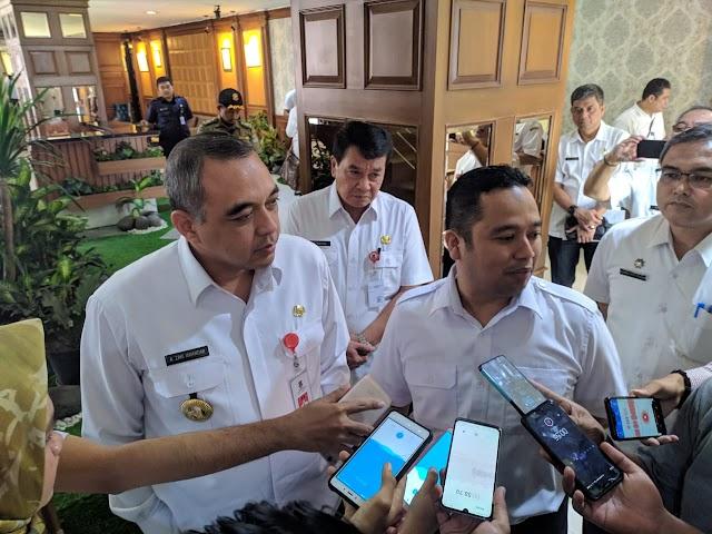 Penyerahan Aset Pemkab Ke Kota Tangerang Terbentur Oleh Pelantikan Dewan