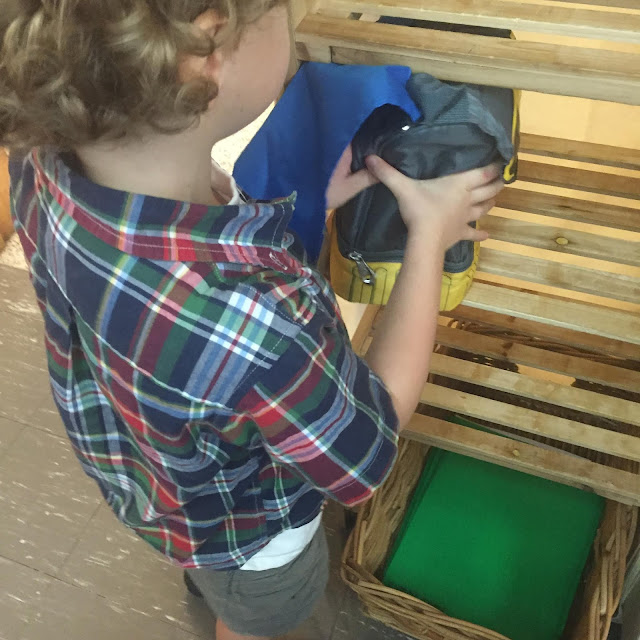 Beginning the Year back to school  in Kindergarten: Routines and procedures