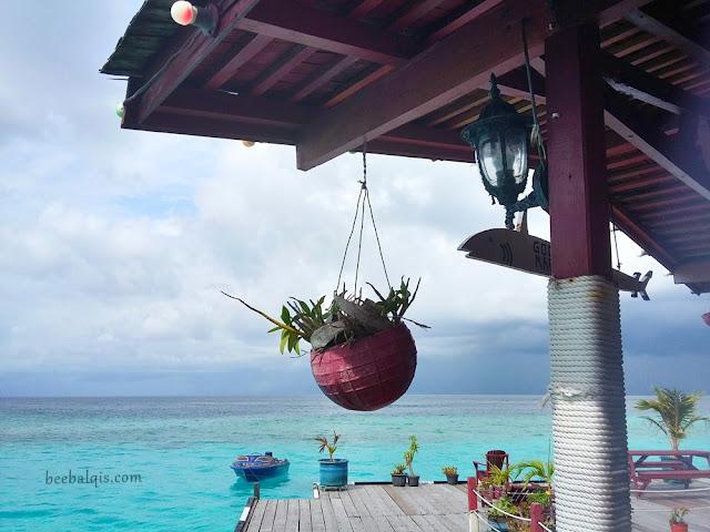 Maratua Paradise Resort di Pulau Maratua