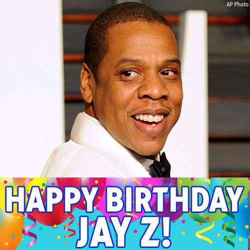 Jay-Z's Birthday Wishes Awesome Picture