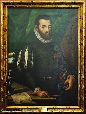 Pedro Menéndez de Avilés, cuadro, ayuntamiento, Avilés