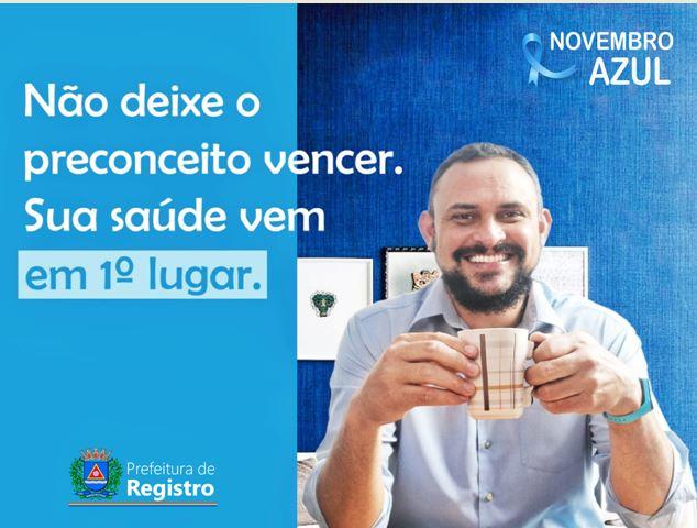 Novembro Azul alerta para a saúde do homem