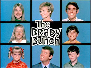 The Brady Bunch - the quintessential 'mine' and 'yours' family
