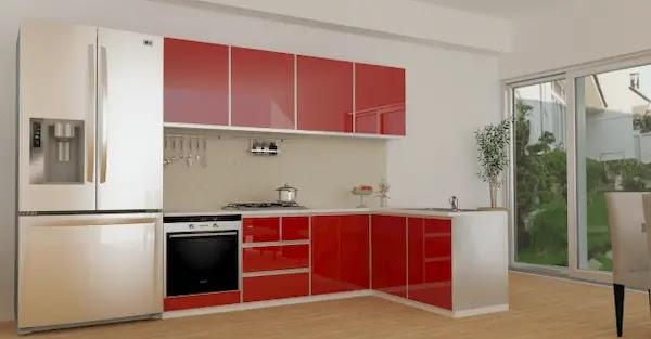 تصميم مطبخ المنيوم