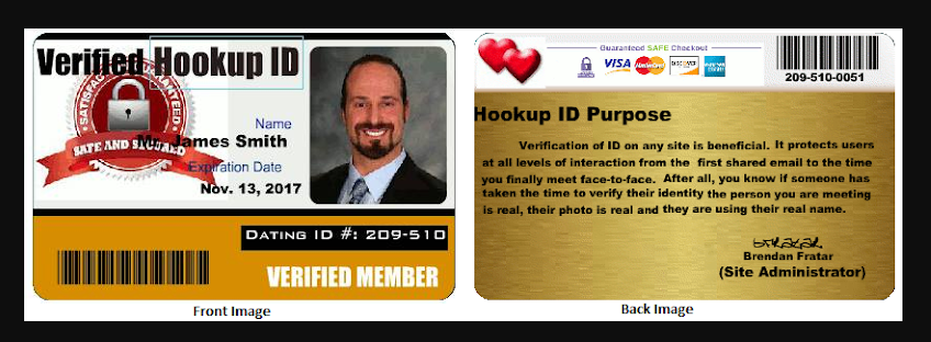 security hook up id