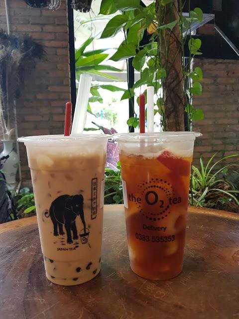 Quán Trà Sữa The O2 Tea