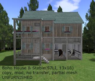 Boho House & Stable