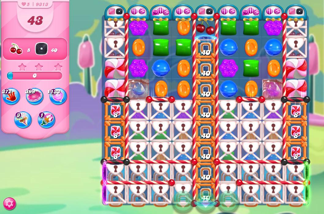 Candy Crush Saga level 9313
