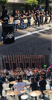 Grupo Jovens de Lata representa Miracatu na Avenida Paulista