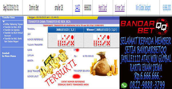 Situs Idn Poker Terpercaya Dengan Jackpot Ceme, Jackpot Poker dan Jackpot Dominoqq