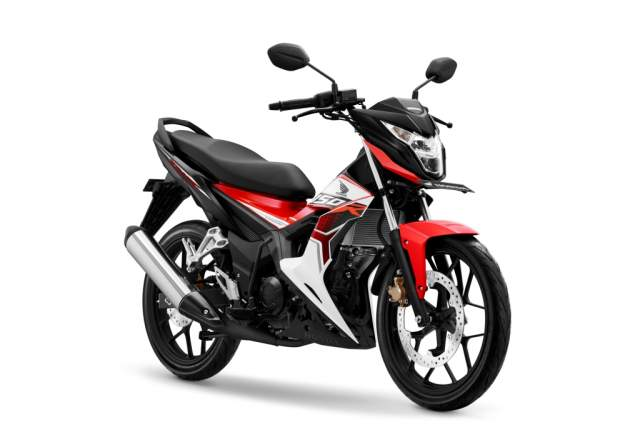 Warna New Honda Sonic 150R Energetic Red