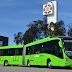 Marcopolo exporta 30 buses Viale BRT para el sistema de transporte en Guatemala
