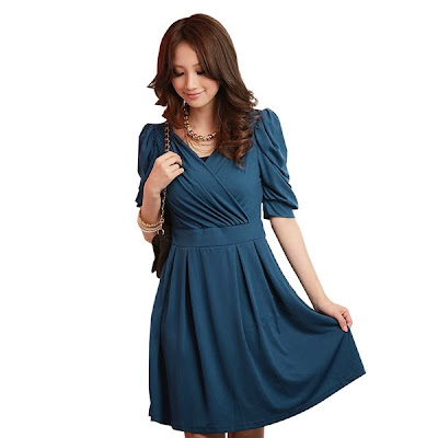 Eve's World: Trendy Blue Dress For All Occasions