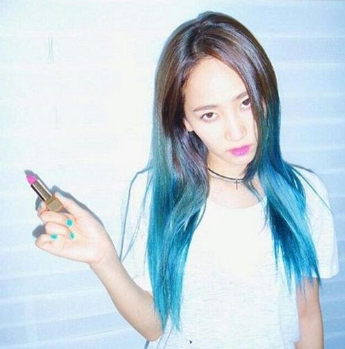 yenny_hair_colors_ hair_dye_hair_styles_wondergirls_blue