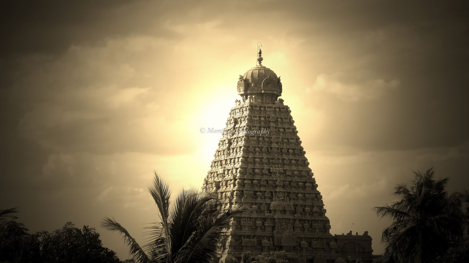 Mamthas Photography Thanjai Temple Tower