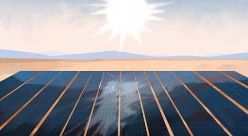 كيفية عمل الالواح الشمسية