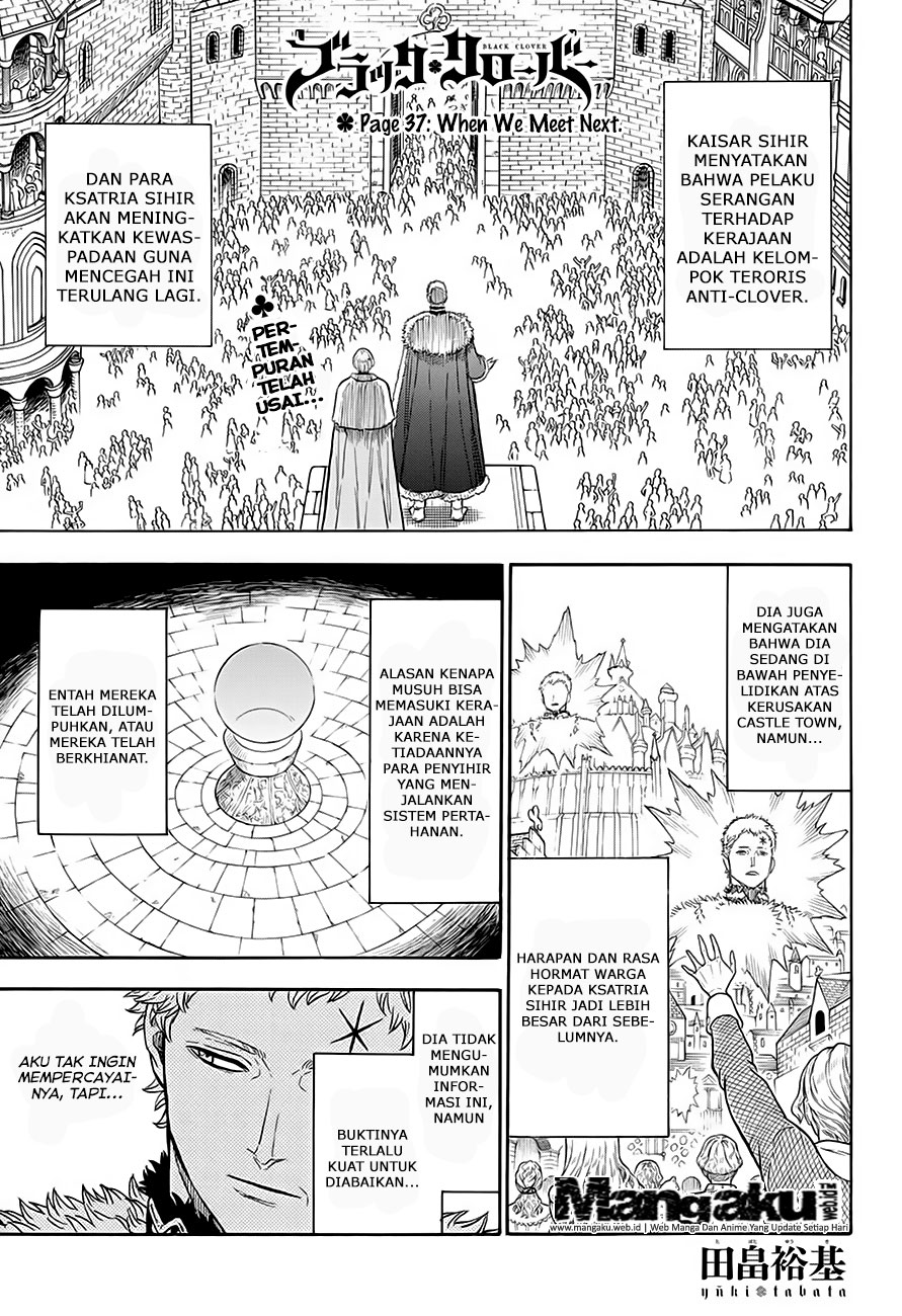 Black Clover Chapter 37 When Wee Meet Next